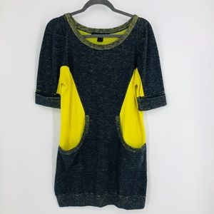Marc By Marc Jacobs Bright Navy Multi Shirt Dress